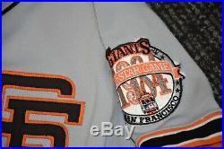 1984 Chris Brown San Francisco Giants Game Worn Jersey