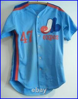1984 Montreal Expos Dick Grapenthin Game Used Worn Jersey