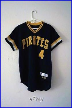 c872b94a2b5 1984 Pittsburgh Pirates Game Used Jersey Dale Berra