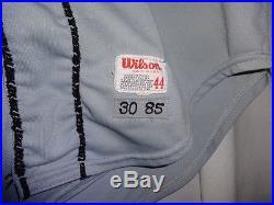1985 San Francisco Giants CHILI DAVIS Game Used Worn MLB Baseball Jersey
