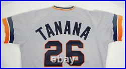 1986 Detroit Tigers Frank Tanana #26 Game Used Grey Jersey DP07092
