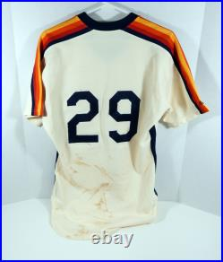 1986 Houston Astros Denny Walling #29 Game Used Cream Jersey DP04016
