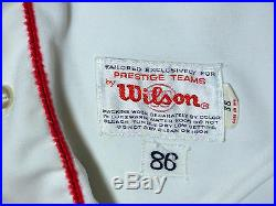 1986 Red Sox Dennis Oil Can Boyd # 23 Game Worn Jersey Guaranteed