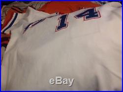 1986 braves game worn jersey