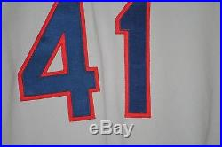 1987 Jim Winn, Chicago White Sox, Game Worn Road Jersey, Mears LOA