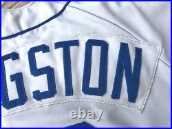 1988 Game Worn Mark Langston Seattle Mariners Jersey Set 1 Rawlings Used Angels