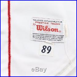 1989 Al Bumbry Boston Red Sox Game Used Worn Home Jersey
