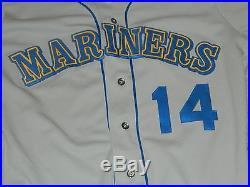 1989 Tino Martinez GAME USED JERSEY Rawlings Size 46 Seattle Mariners RARE