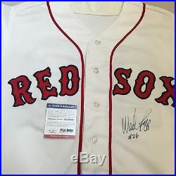 1990 Wade Boggs Signed Autographed Game Used Boston Red Sox Jersey PSA DNA COA
