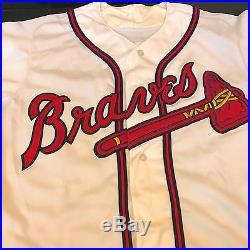 1993 Fred McGriff Signed Game Used Atlanta Braves Jersey PSA DNA COA