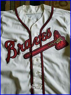 1993 Greg Olson Atlanta Braves Game Worn Jersey