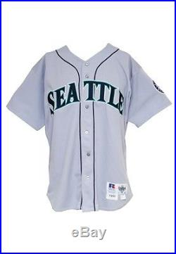 1993 Ken Griffey Jr. Seattle Mariners Game Used Road Jersey   Autographed  Pants 2a7b5a014