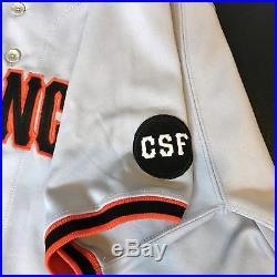 1994 Bobby Bonds Signed Game Used San Francisco Giants Jersey JSA COA Barry