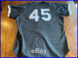 1994 Michael Jordan Birmingham Barons Game Used Baseball Jersey MEARS