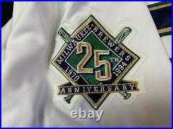 1994 Milwaukee Brewers John Jaha #32 GAME WORN MLB Size 48 Jersey & Pants