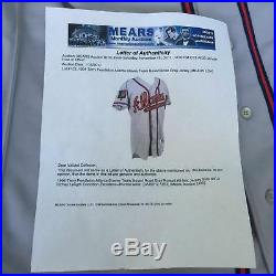 1994 Terry Pendleton Game Used Russell Atlanta Braves Jersey With Mears COA