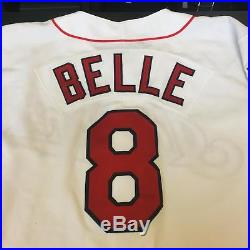 1995 Albert Belle Game Used Cleveland Indians Jacobs Field Jersey With COA
