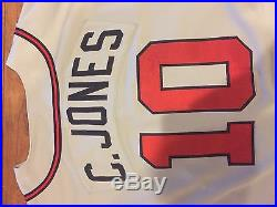watch 13ff7 7969f 1995 Chipper Jones Atlanta Braves World Series Game Worn ...