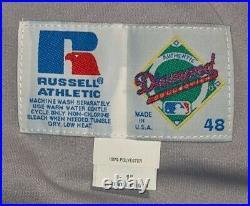 1998 John Vander Wal San Diego Padres game used/worn road jersey