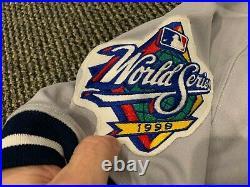 1998 New York Yankees Batboy World Series Game Used Jersey Petco Padres