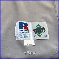 1998 Tony Gwynn Game Used Signed San Diego Padres Jersey JSA + Alicia Gwynn COA