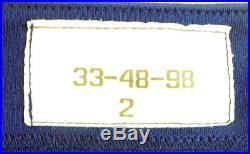 1998 Toronto Blue Jays Ed Sprague #33 Game Issued Blue Jersey BLU1078