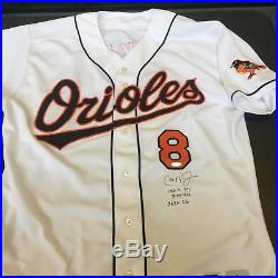 1999 Cal Ripken Jr. Game Used Signed Baltimore Orioles Home Jersey With JSA COA
