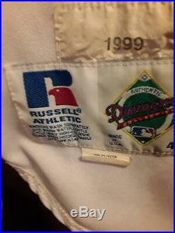 1999 Kevin Brown Dodgers game worn jersey