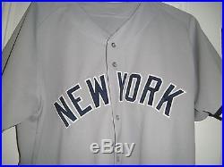 2000 JOE TORRE NEW YORK YANKEES Game Used Worn Jersey LOA