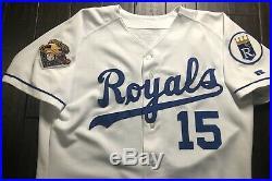2001 Carlos Beltran Game Used Worn Jersey! Kansas City Royals Cardinals Mets