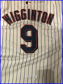 2003 TY WIGGINTON NEW YORK METS Game Worn Jersey / NICE GAME USE