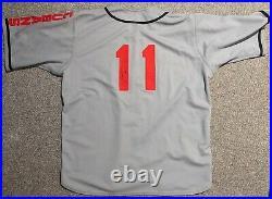 2004 Joe McEwing game used New York Mets (Cubans) TBC Negro League jersey