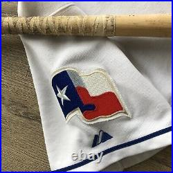 2005 Alfonso Soriano Texas Rangers Game Used Worn Signed Jersey Bat 40/40/40