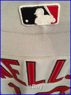 2005 David Wells Game Worn Boston Red Sox Gray Road Jersey