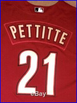 2006 Andy Pettitte Houston Astros Game Worn Alternate Jersey, 45 Year Patch
