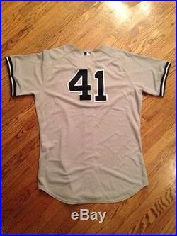 2006 New York Yankees Game Used Randy Johnson Road Jersey WOW Great HOF Piece