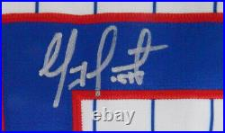 2007 Chicago Cubs Geovany Soto #58 Game Used Signed White Jersey Rookie Year 366