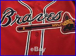 2008 Chipper Jones Atlanta Game Used Jersey All tags