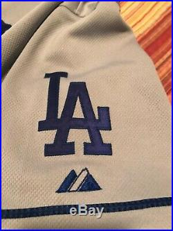 2008 Jonathan Broxton Los Angeles Dodger Game Worn jersey Size 54 50-year patch