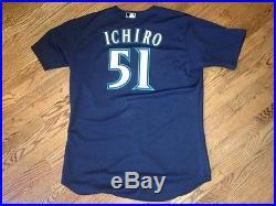 2009 Ichiro Suzuki Game Issued Alternate Jersey