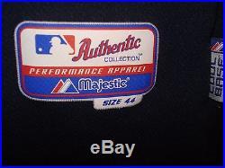 2010 Ryan Braun Road Blue Milwaukee Brewers Game Used Jersey MLB Hologram