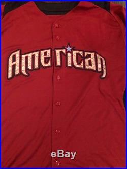 2011 Anaheim Angels Game Used/worn Al All Star Game Jersey/jordan Walton/mlb Aut