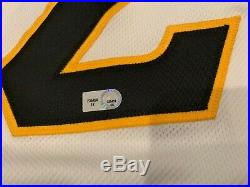2012 Andrew Mccutchen Pittsburgh Pirates Game Used Jersey Mlb Auth Ek235459