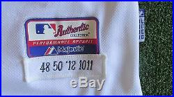 2012 Detroit Tigers Game Used Worn Issued World Series Jersey Porcello Cy Young