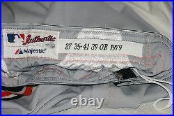 2012 Jhonny Peralta, Detroit Tigers, Game Worn Uniform, Jersey & Pants, PSA, MLB