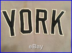 2013 New York Yankees Robinson Cano Game Used Worn Jersey MLB & Steiner COA