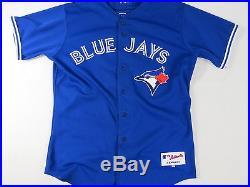 2014 Toronto Blue Jays Game Worn Used Dustin McGowan MLB Baseball Jersey Set 1