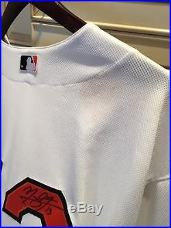 649d8b62 2015 Baltimore Orioles Manny Machado Game Used HR Jersey Signed 4/15/15 MLB