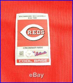2015 Cincinnati Reds Tucker Barnhart #16 Game Issued Spring Training Jersey 268