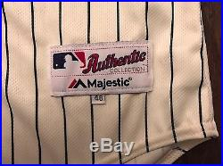 2016 ALEX DICKERSON SAN DIEGO PADRES MAJESTIC PCL GAME USED WORN JERSEY with PANTS